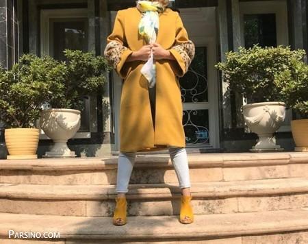مدل مانتو بلند اسپرت