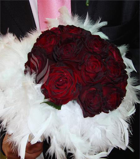 عکس دسته گل عروس,عکس دسته گل عروس زیبا,دسته گل عروس رز