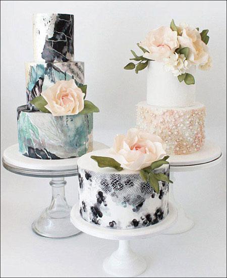 جدیدترین کیک های عروسی,کیک عروسی 2015