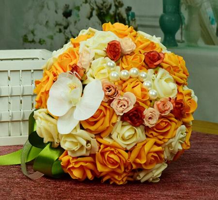 دسته گل عروس, دسته گل عروس آبشاری